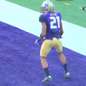 University of Washington cornerback Marcus Peters breaks down his own film