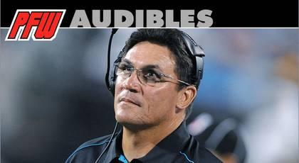 Insider: Panthers' loss to Falcons falls on Rivera