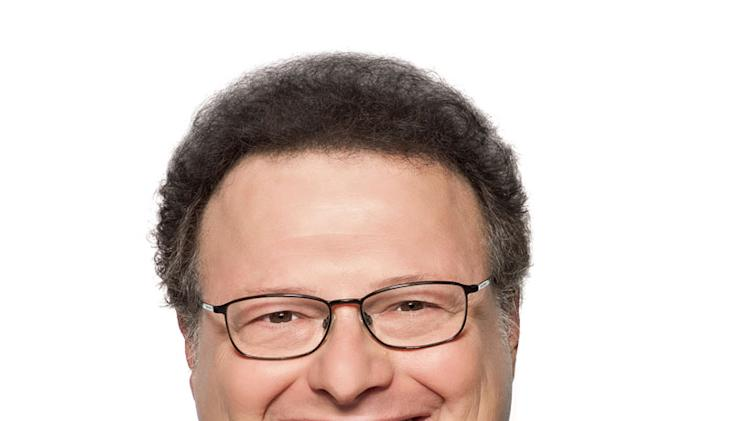 "Wayne Knight stars as Haskell Lutz in ""The Exes."""