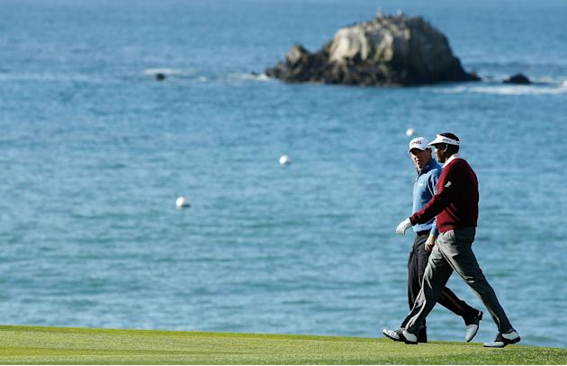 AT&T Pebble Beach National Pro-Am - Round One