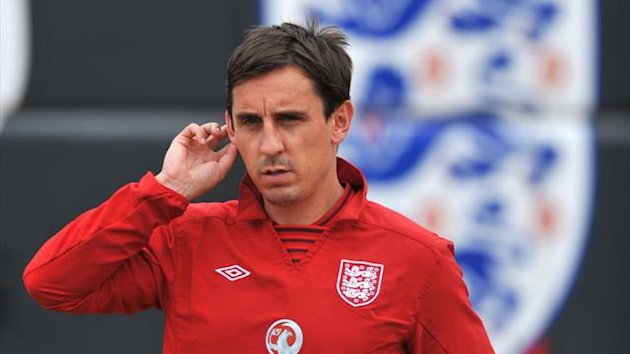 Gary Neville is unfazed by the failures of English clubs in this season's Champions League