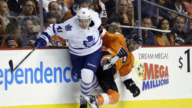 Maple Leafs' Kulemin out at least 2 weeks