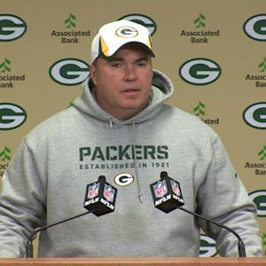 McCarthy: 'We're not ready for Aaron to play'