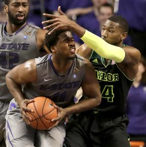 Baylor's FT shooting helps beat K-State, 76-74