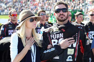 Martin Truex Jr.'s girlfriend continues cancer fight