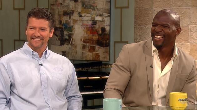 Todd Palin and Terry Crews stop by Access Hollywood Live on June 22, 2012 -- Access Hollywood