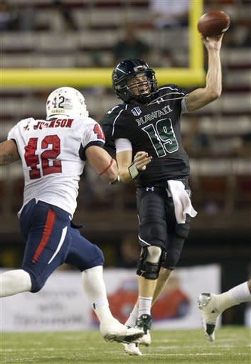 Hawaii defeats South Alabama 23-7