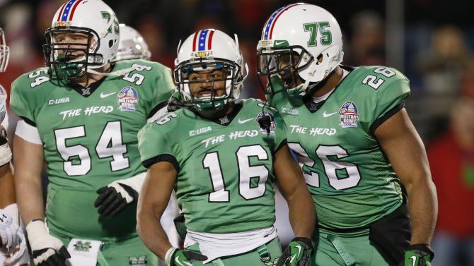 NCAA Football: Military Bowl-Marshall vs Maryland