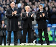 (left- right) Gary McAllister, Gordon Strachan and David Batty