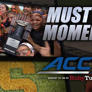 Cuse's Kayla Treanor Sudden-Victory Goal To Win Title | ACC Must See Moment