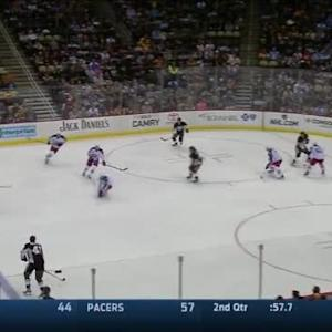 Curtis McElhinney Save on Nick Spaling (05:02/3rd)
