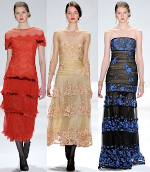 tadashi shoji fall 2012 collection