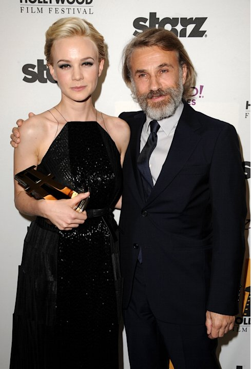 15th Annual Hollywood Film Awards Carey Mulligan Christoph Waltz