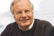"In this 2004 image released by Public Affairs Television, Bill Moyers is shown. At age 77, Moyers is re-engaging with his audience when ""Moyers & Company"" premieres on public television stations across the country this weekend. (AP Photo/Public Affairs Television, Peter Krogh)"
