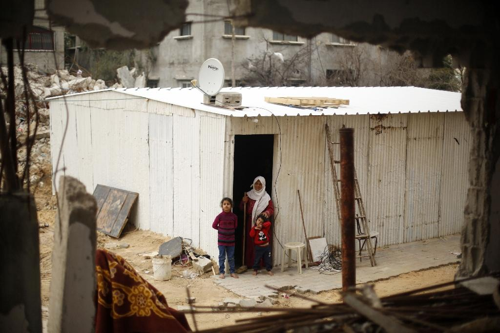 Six months after war, tempers fray among Gaza homeless