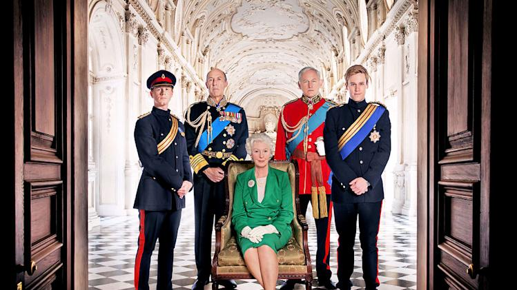 "The cast of ""William & Catherine: A Royal Romance."""