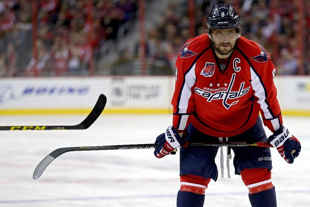 Ovechkin nets league-best 50th goal in Capitals win