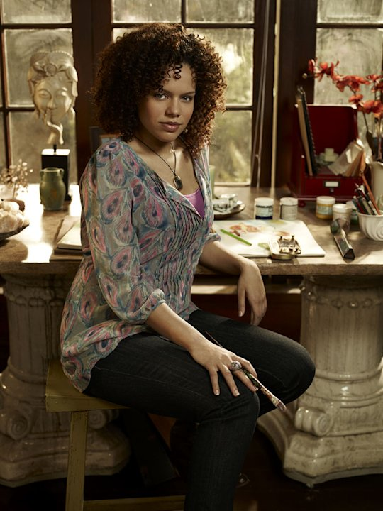 Genelle Williams stars as Leena in &quot;Warehouse 13.&quot; 