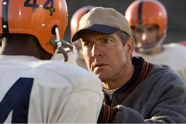 Dennis Quaid The Express Production Stills Universal 2008