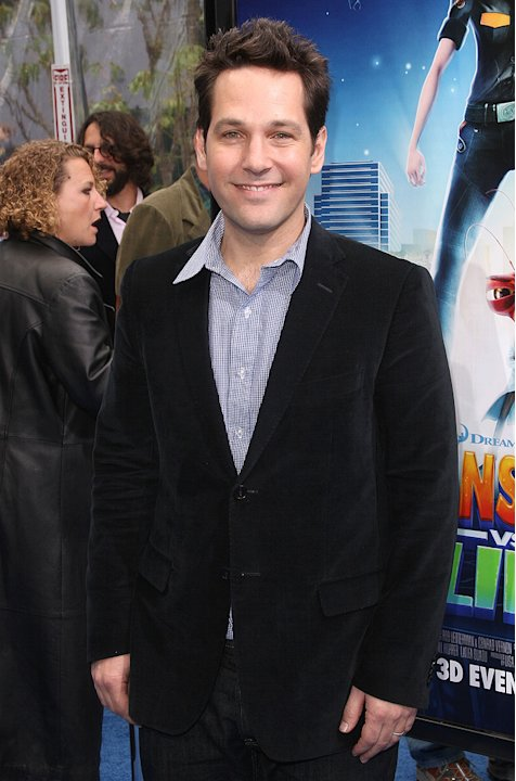 Monsters vs Aliens LA Premiere 2009 Paul Rudd