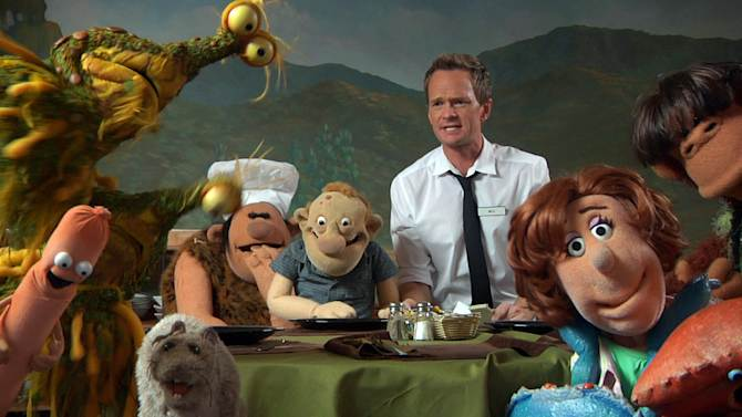 """This undated image released by the Nerdist Channel shows actor Neil Patrick Harris in a scene from """"Puppet Dreams."""" Nerdist began as a little weekly comedy podcast hosted by Chris Hardwick and launched in 2010. It has grown to encompass a network of 21 podcasts, 27 YouTube shows and a growing TV presence. (AP Photo/Nerdist Channel)"""