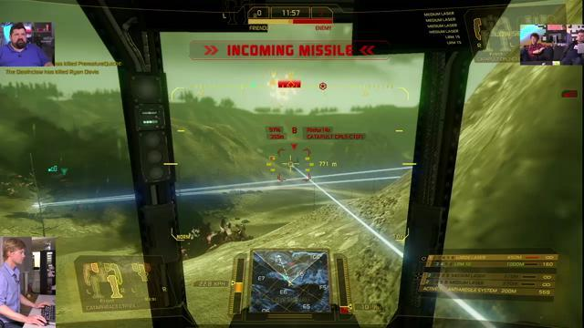 GiantBomb Livestream of MechWarrior Online