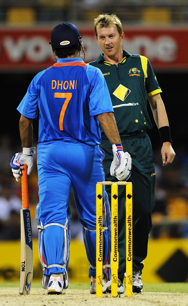 Dhoni and Lee