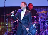 "Singer Michael Buble performs at the Hollywood Palladium on May 10, in California. A top award at Britain's ""radio Oscars"" has gone to the country's latest up-and-coming entertainment talents: two Buble fans aged 86 and 90"