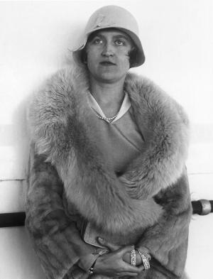 FILE- In this Aug. 11, 1930 file photo, Huguette Clark, daughter of the late copper magnate Sen. William A. Clark of Montana, is seen in Reno, Nev., after being granted a divorce. An official overseeing Clark's estate says that recipients of gifts lavished upon them during the reclusive multimillionaire's long life must return a whopping $37 million of the $400 million estate because they allegedly maneuvered and exploited Clark, who died last year at 104.  A separate fight is roiling over what will ultimately become of her money. (AP Photo/File)