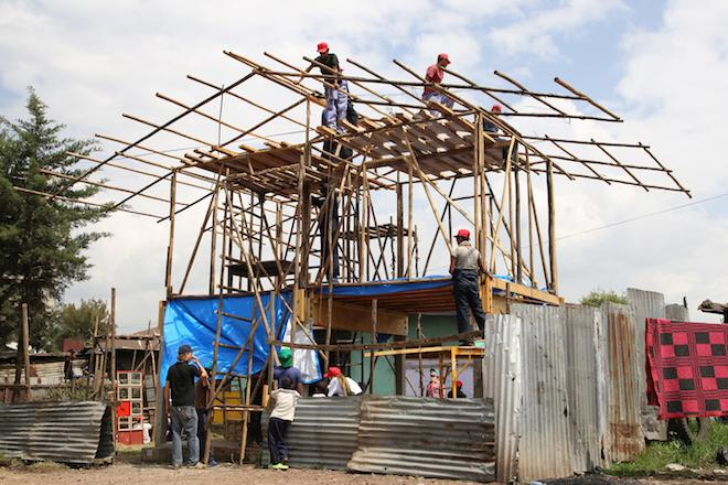 Adventures in Architecture: Bauhaus and Ethiopian Students Build Experimental Urban Homes for Africa