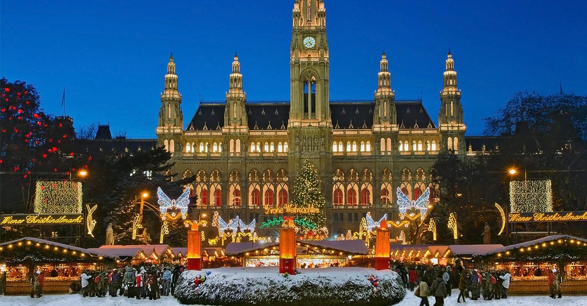 19 Of The World's Most Magical Christmas Towns
