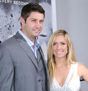 """Jay Cutler and Kristin Cavallari arrive at the Los Angeles premiere of """"Source Code"""" held at ArcLight Cinemas Cinerama Dome in Hollywood, Calif. on March 28, 2011  -- Getty Premium"""