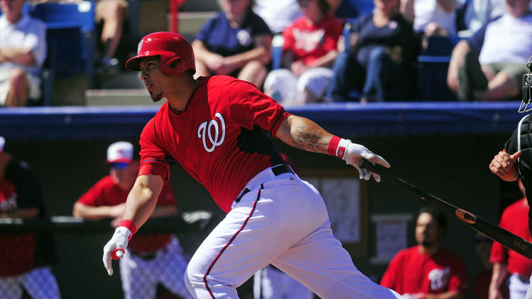 Nationals catcher Wilson Ramos injures left hand