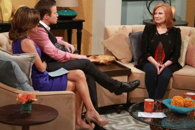 Caroline Manzo stops by Access Hollywood Live on March 28, 2013 -- Access Hollywood