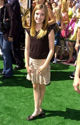 Emma Roberts at the world premiere of Warner Brothers' New York Minute