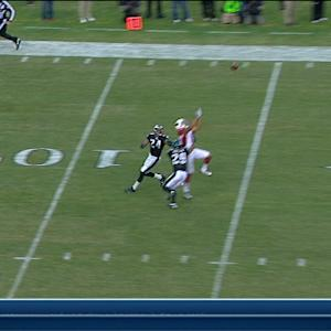 Arizona Cardinals wide receiver Michael Floyd 34-yard reception