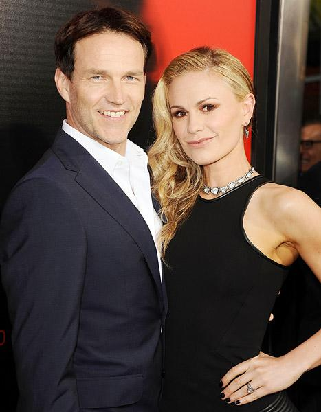 "Stephen Moyer, Anna Paquin's Premature Twins Developing Well After ""Touch and Go"" Birth"