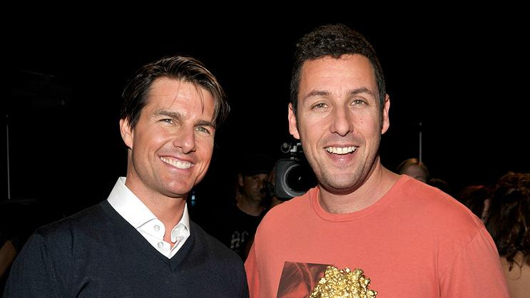 Adam Sandler Tom Cruise 2008