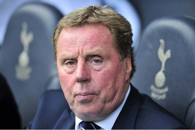 Tottenham Hotspur's English Manager Harry Redknapp  AFP PHOTO/GLYN KIRK      GLYN KIRK/AFP/GettyImages AFP/Getty Images