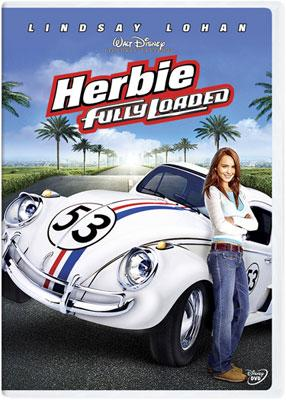 The box art from Walt Disney Pictures' DVD Herbie: Fully Loaded