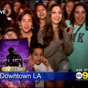 Justin Bieber Draws Hordes Of Fans To LA Premiere Of Documentary