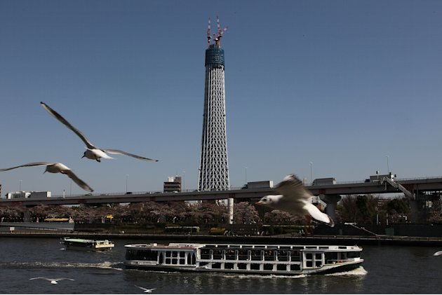 Tokyo Sky Tree Replaces Tokyo Tower As Tallest Building In Japan