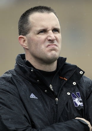 Pat Fitzgerald's foot-in-mouth Twitter comment draws ire of NBA fans