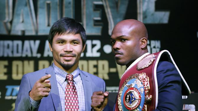 Bradley, Pacquiao look for decisive win in rematch