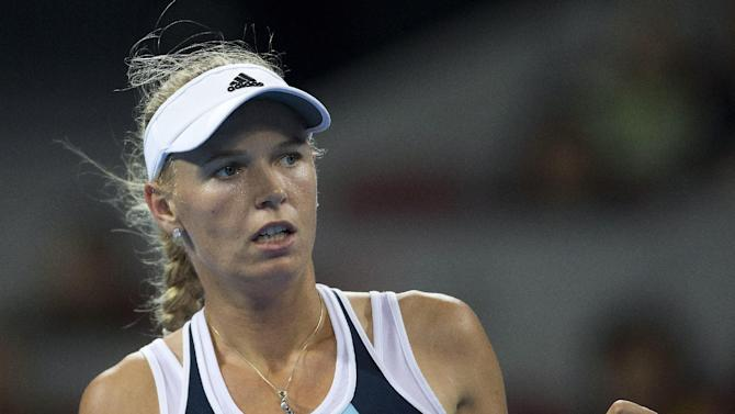 Wozniacki, Stephens in Luxembourg Open quarters