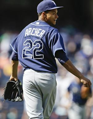 Rays' Archer throws 2-hitter, stops Yankees 1-0