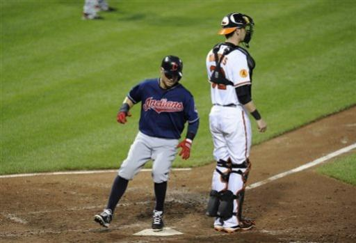 Brantley has 4 RBIs as Indians beat Orioles 5-2