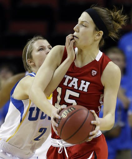 No. 14 UCLA women answer Utah and win 54-43