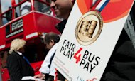 Bus Drivers Vote For Strike Over Olympics Pay