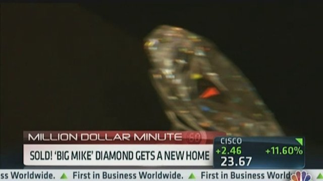 Sold! &#39;Big Mike&#39; Diamond Gets a New Home